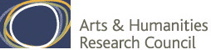 Logo of project sponsors, Arts and Humanities Research Council (AHRC)