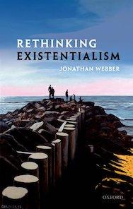 Image of the cover of Jonathan Webber's book, Rethinking Existentialism